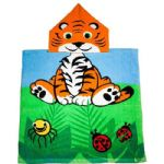 Mini Poncho Pal Kumal Tiger UPF 50+